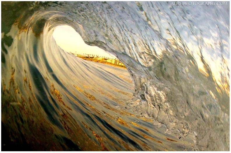 Barrel, Tube, Sunset, Matt Aden, Photography, Sunset, San Diego