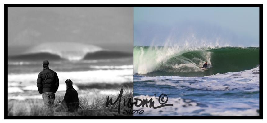 Seth Migdail, Ocean Beach, San Francisco, Surf, Barrel