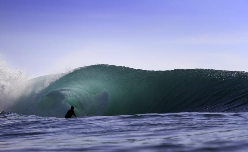 Indonesia Surfing Barrel Padang Padang Green Room Surfing