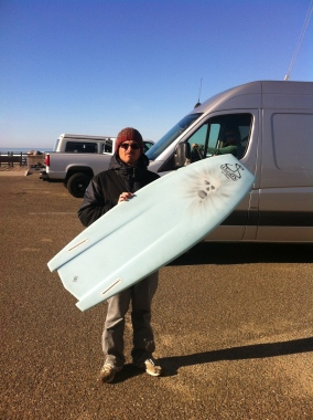 Jeff Scardine and his 5 feet of fury: photo Shawn Tracht