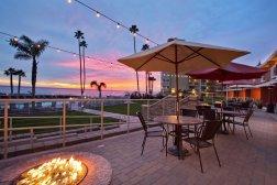 Lobby Terrace Sunset