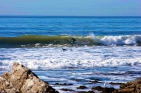 Jeff Scardine 5 feet of fury displacement sled surfboard
