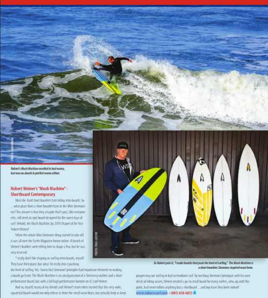 """Robert's page from Deep Magazine's article """"How Mini Is Your Simmons"""" written by Shawn Tracht"""