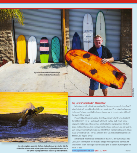 Ray Lucke's page from How Mini is Your Simmons written by Shawn Tracht for Deep Magazine